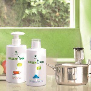 GreenPin – серия от ЕКО-средства за дома